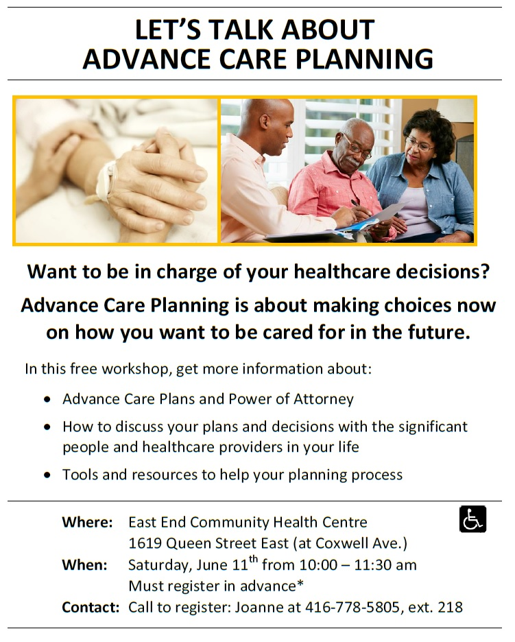 June 11th Advanced Care Planning Meeting